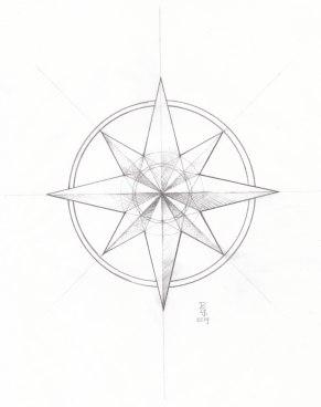 Map Compass | Diane Groanas