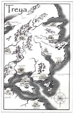 Starseeker map of Treya | Diane Gronas
