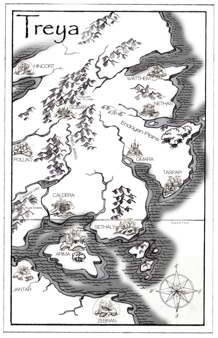 MAP of Treya FLAT