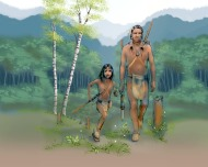 Wendat Scout by Larry Moniz illustrated by Diane Gronas