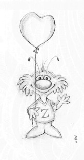 Zeek from Zark Greeting | Diane Gronas