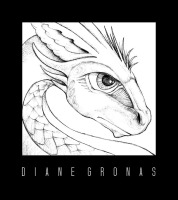 Dragon Pencil Sketch Photoshop | Diane Gronas