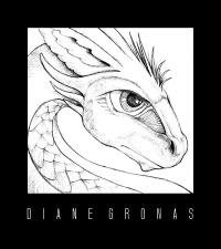 Dragon Pencil Sketch Photoshop   Diane Gronas