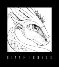 Dragon Pencil Sketch Photoshop | Diane Gronas