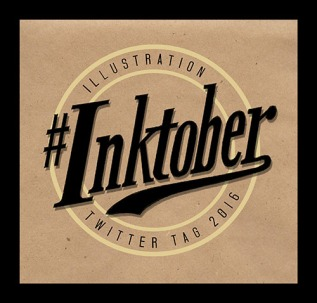 #Inktober Logo Photoshop | Diane Gronas