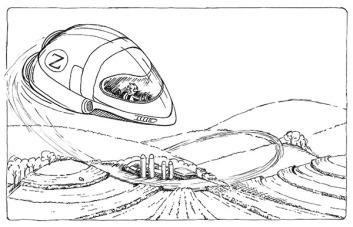 Zeek in Bean Rebellion - Inked sketch | Diane Gronas