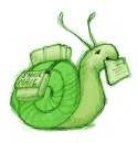 Snail Mail in green