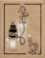 18 Ink BOTTLE & Zeek kraft